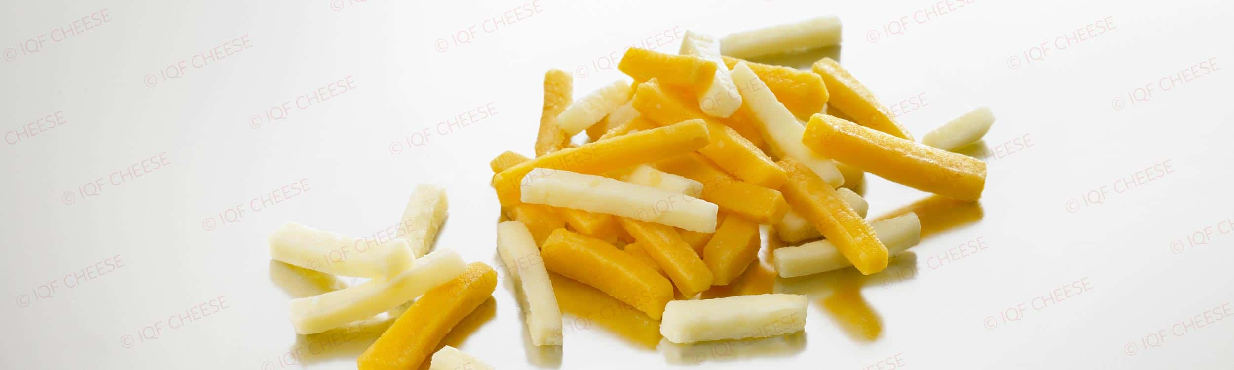 IQF Shredded Bicolor Cheese