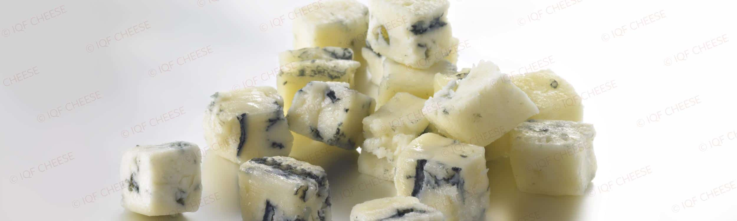 IQF Blue Cheese Cubes