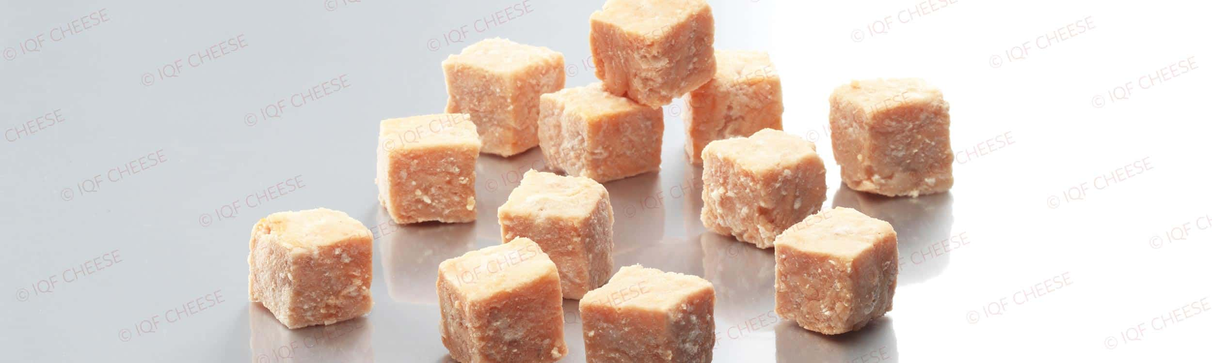 IQF Cooked Salmon Cubes